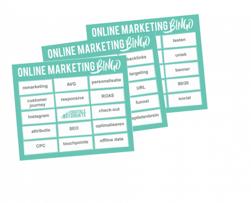 Online Marketing Bingo