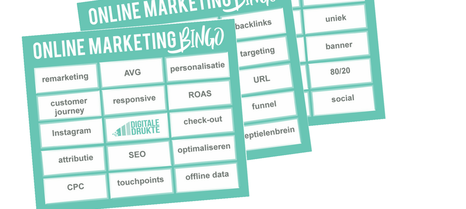 Online Marketing Bingo
