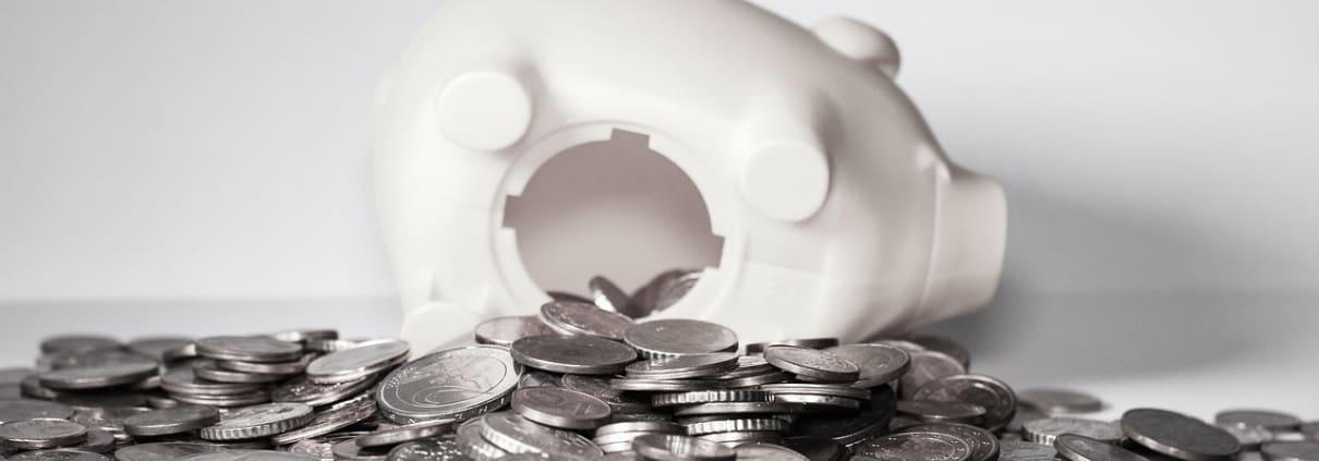 Online marketing budget spaarvarken